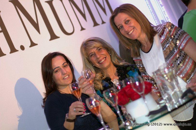Champagne Mumm maría bretón gallego