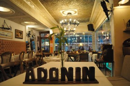 restaurantes Estambul comer Santa Sofia adonin cafe