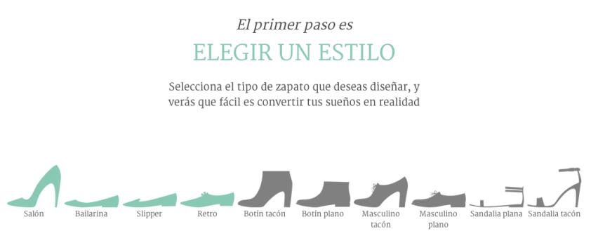Diseñar mi propio zapato